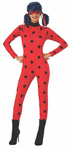 Rubie's Adult Miraculous Ladybug Fancy Dress Costume Large