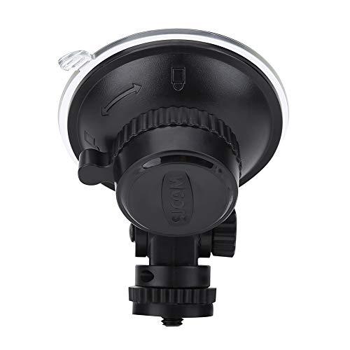 Ventosa per Gopro, plastica Resistente per Auto con Attacco a Ventosa, Accessorio per Camera d'azione con Vite Standard da 1/4'per SJCAM