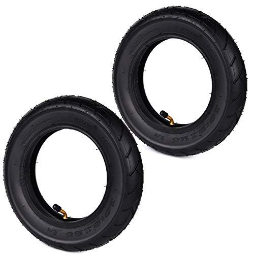 Wingsmoto 10 x 2.125 10-Zoll-Reifen und Schlauch für 2-Rad-Scooter, intelligent, selbstbalancierend, 25,4 cm, Einrad, 2er-Pack