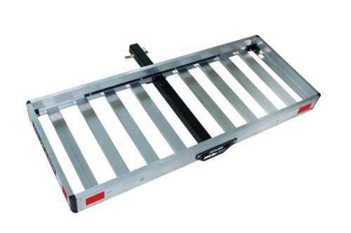 Tricam ACC-1F Hitch Mounted Aluminum Cargo Carrier, 500-Pound Capacity, 50-Inch by 20-Inch Platform by Tricam