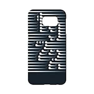 BLUEDIO Designer 3D Printed Back case cover for Samsung Galaxy S7 Edge - G4327