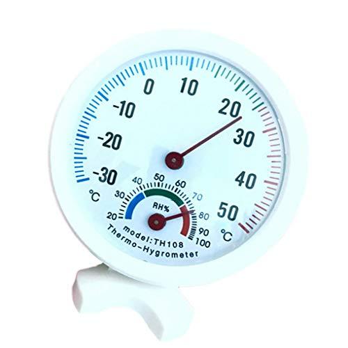Jinzuke Multifunktionale Innen Hygrometer-Thermometer-Temperatur-Feuchtigkeits-Messinstrument Home Office Baby Room