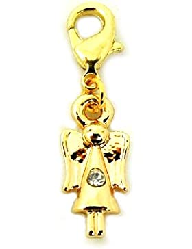 Charm Anhänger Engel gold für Bettelarmband - TH-0775