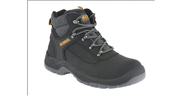72db1fa2b88 DEWALT LASER SIZE 9 (43) BLACK HIKER SAFETY BOOT: Amazon.co.uk ...