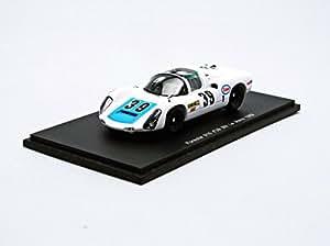 Spark - S3468 - Véhicule Miniature - Modèle À L'échelle - Porsche 910 - Le Mans - 1969 - Echelle 1/43