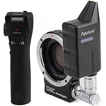 Aputure DEC LensRegain Kabellose Fernbedienung, Adapter für MFT (Micro 4/3), spiegellose Kamera, Canon EF-Objektive