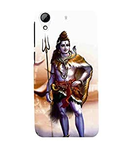 For HTC Desire 626G :: HTC Desire 626 Dual SIM :: HTC Desire 626S :: HTC Desire 626 USA :: HTC Desire 626G+ :: HTC Desire 626G Plus shiva, god, baghwan, lord, jesus, cristrian, allah Designer Printed High Quality Smooth Matte Protective Mobile Case Back Pouch Cover by APEX