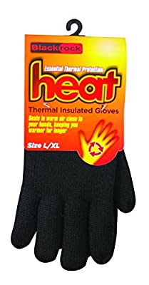 Blackrock Men's Black Heat Thermal Lined Gloves : everything 5 pounds (or less!)
