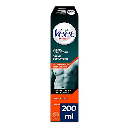Veet for Men Crema Depilatoria hombre - Piel normal
