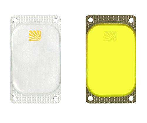 Cyalume Boite de 25 Balises Lumineuses Adhésives Rectangulaires VisiPad 10 heures Jaune