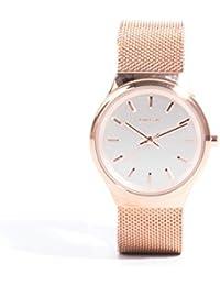 Parfois - Reloj Rose Metal - Mujeres - Tallas M - Dorado