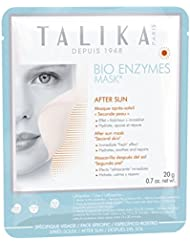 TALIKA Masque après-soleil en biocellulose pour le visage