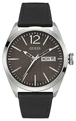 Guess W0658G2 - Reloj de lujo para hombre, color marrón / negro