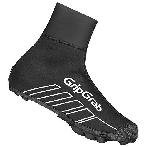 GripGrab RaceThermo X Waterproof Winter MTB/CX Überschuhe Fahrrad, Black, 40/41