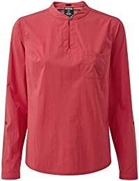 b0529464b50 Sherpa Ravi - T-Shirt Manches Longues Femme - Rose 2019 t Shirt Manches  Longues