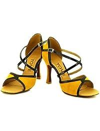 OCHENTA Jazz e Moderno Donna, Giallo (Yellow), 38 EU