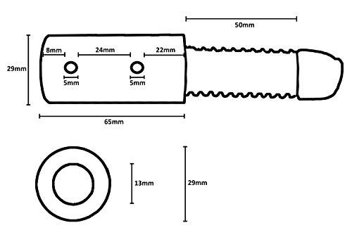 universal Kupplungsadapter mit Feder Deichselanschluß für Kinderanhänger - 3