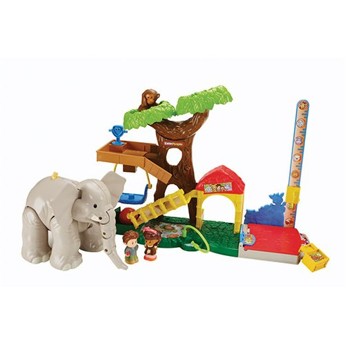 Fisher Price Big Animal Zoo - sets de juguetes...