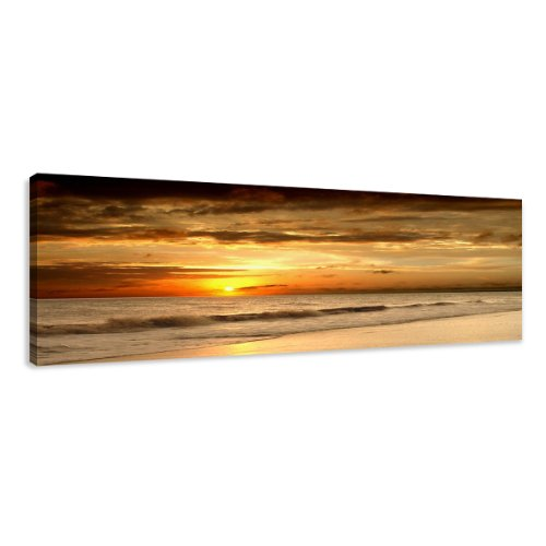 120 x 40 cm Cuadro Lienzo Playa 5703-SCT - Imagen/Impresion/Pintura