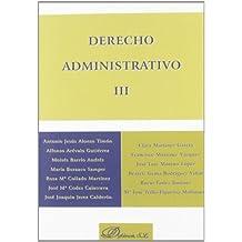 Derecho administrativo III: 3
