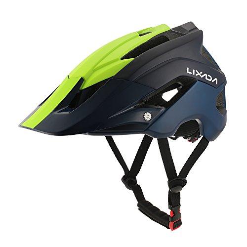 Lixada caschi bicicletta ultra-leggero casco da bicicletta di montagna casco protettivo sportivo 13 aperture