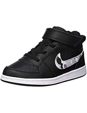 NIKE Court Borough Mid (TDV), Zapatillas de Gimnasia para Niños