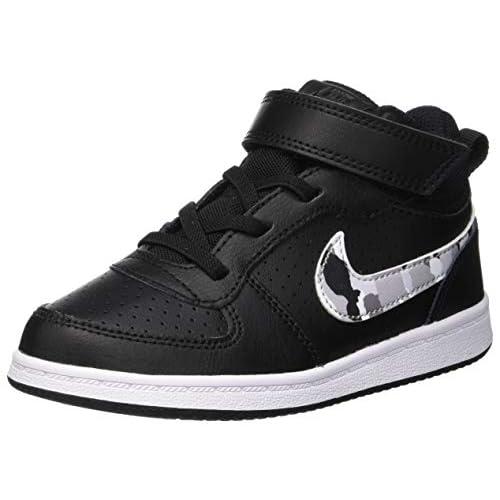 Nike Unisex Kid's Court Borough Mid 2 Boot (Td) Slippers