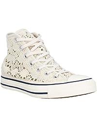 Converse Chuck 153502C Sneaker High Shield Canvas Buff/ Aegean Aqua/ white, Schuhe Unisex:39.5