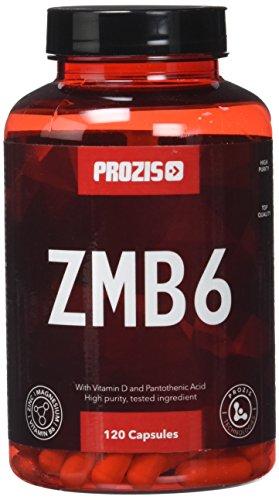 Prozis ZMB6 zinc, magnésium et vitamine B6 - pack de 120 gélules - 40 doses