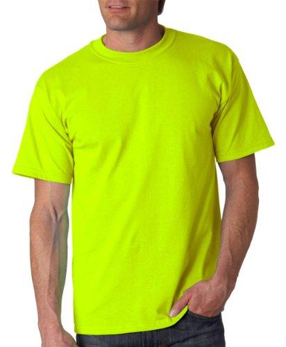 Gildan - Maglietta 100% Cotone - Uomo Safety Green