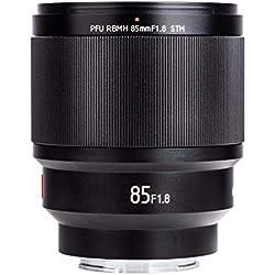 EWOOP PFU RBMH 85 mm F1.8 STM Viltrox Auto Focus Prime Objectif Full Frame Portrait Design pour Appareil Photo Sony E-Mount NEX A7RIII A9 A7II A7RII A7 A7III AR A7SII A6500 A6300 A6400 NEX-7