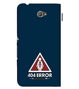 EPICCASE Need girlfriend Mobile Back Case Cover For Sony Xperia E4 (Designer Case)