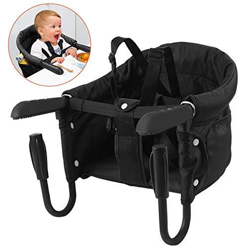 Surplex Trona Portátil Bebé, Sillita Ajustable A La Mesa Mesa Asiento de mesa para bebé, Fast - Trona...
