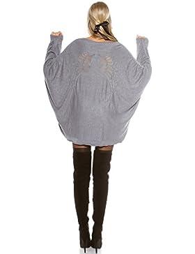 Kimono lungo Cardigan maglione Yacun donna
