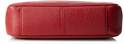 Bree - Faro 2, Borsa a tracolla Donna Rosso (Rot (brick red 160))