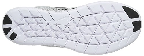 Nike Free Run 831509, Scarpe Running Donna Bianco (White/Black/Pure Platinum)