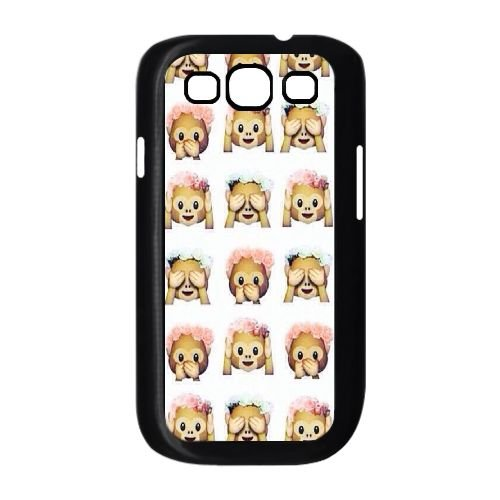 Custom Case for Samsung Galaxy S3 I9300,personalized Chinese Cute Monkey Phone Case ()