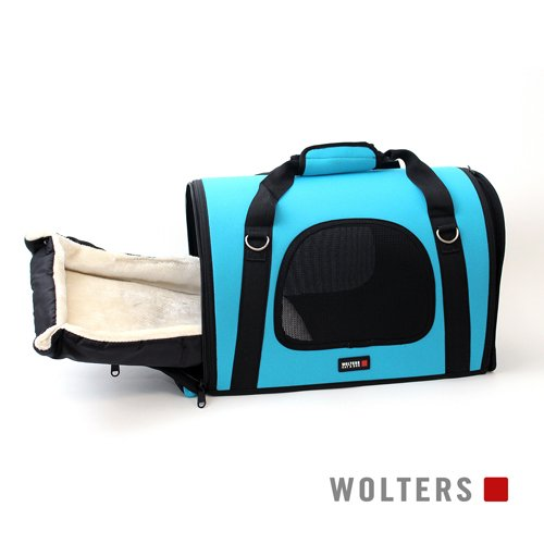 Wolters | Sport-Carrier Neoprene aqua | L 45 x B 25 x H 32 cm