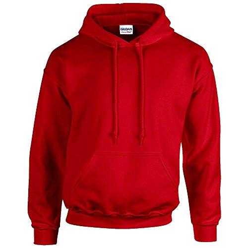 Gildan - Unisex Kapuzenpullover \'Heavy Blend\' , Red, Gr. 4XL