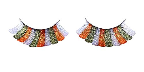 Set von 4 langen und übertriebenen falschen Wimpern Erweiterung für Cosplay [B] Bc Wachsen