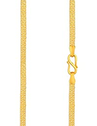 Malabar Gold & Diamonds 22k (916) Yellow Gold Chain Necklace for Women