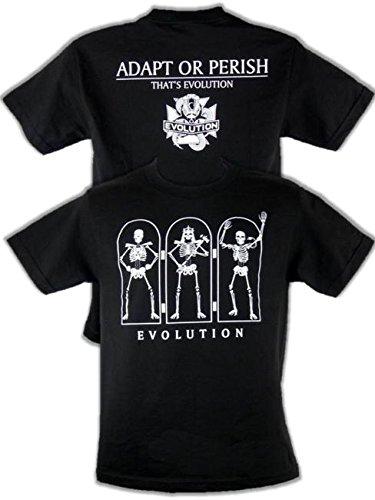 T-Shirt Evolution Adapt Or Perish Retro Bis 5XL !, Gr.:XXL (T-shirt D-generation X)