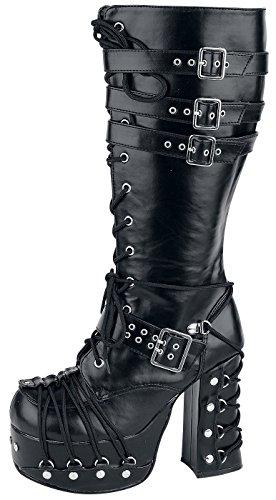 Demonia Charade - 206 Stivali nero Nero