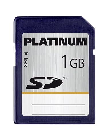 Platinum 1 GB Secure Digital (SD) Speicherkarte (Original Handelsverpackung)