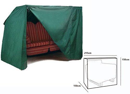 WOLTU® Schutzhülle Schutzhaube Abdeckhaube für Gartenmöbel Hollywoodschaukel 3-4 Sitze Abdeckplane Hülle 150x215x150cm GZ1166