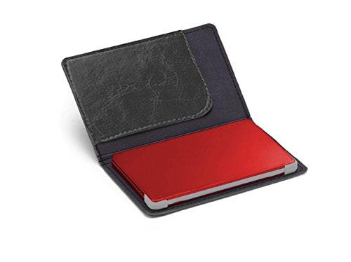 iLogoTech Powerbank 3000mAh Handy Ladegeräte Battery Akkus - Portable Charger Battery Pack Mini Power Bank Slim für Samsung Galaxy, Huawei, iPhone X, 8, 8+, 7, 7+, 6S, 6S+, 6, 6+, 5S(Rot)