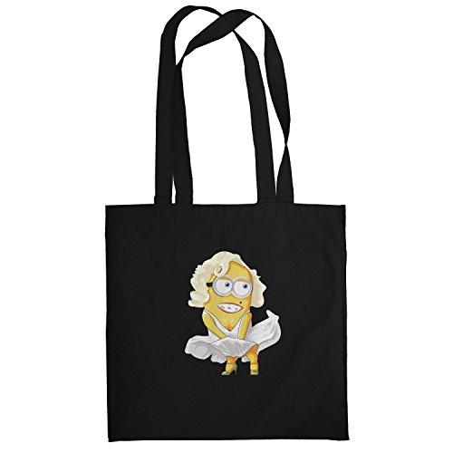 Texlab–Banana Monroe–sacchetto di stoffa Nero