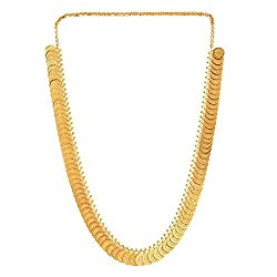 Youbella Gold-Plated Chain Necklace For Women