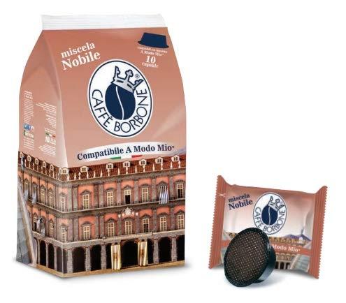 80 Don Carlo - Comp. Lavazza a Modo Mio - Miscela Nobile - 8x10 - Caffè Borbone