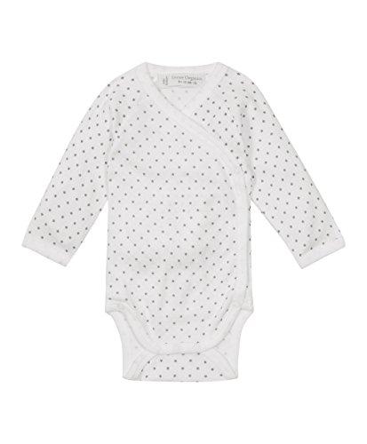 Sense Organics Unisex - Baby Body Ygon, Sternchen, Gr. 56 (Herstellergröße: 50/56 Cm/0-3 Monate), Weiß (Bio 2 Für Dummies)